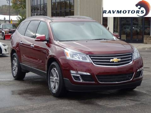 2017 Chevrolet Traverse for sale at RAVMOTORS 2 in Crystal MN
