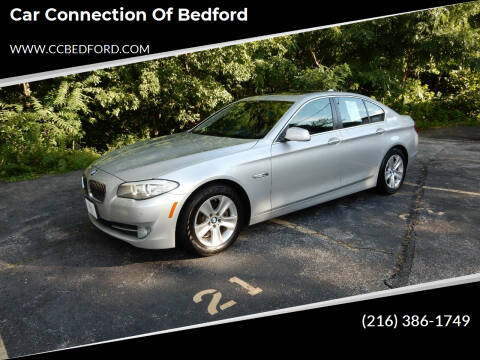 2013 BMW 5 Series for sale at Car Connection of Bedford in Bedford OH