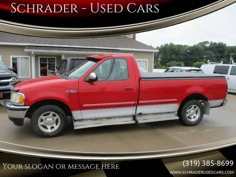 1997 Ford F-150 for sale at Schrader - Used Cars in Mount Pleasant IA