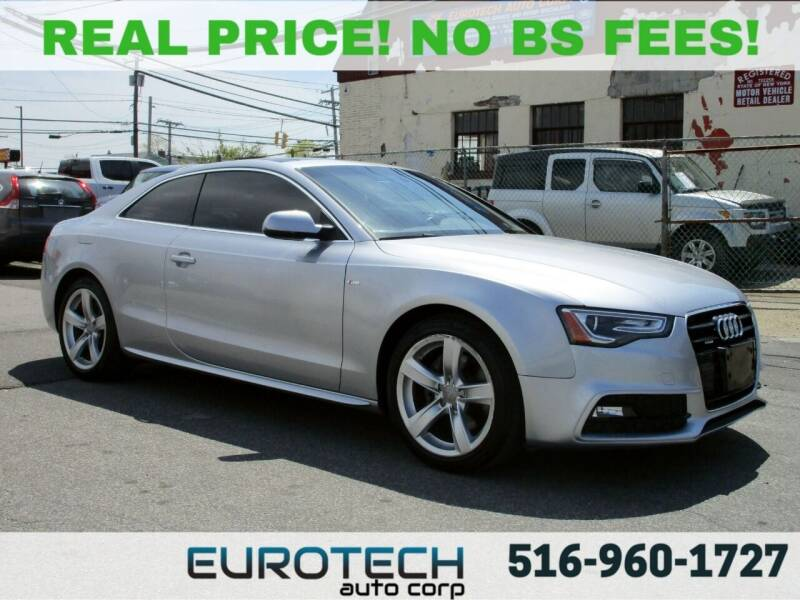 2016 Audi A5 for sale at EUROTECH AUTO CORP in Island Park NY