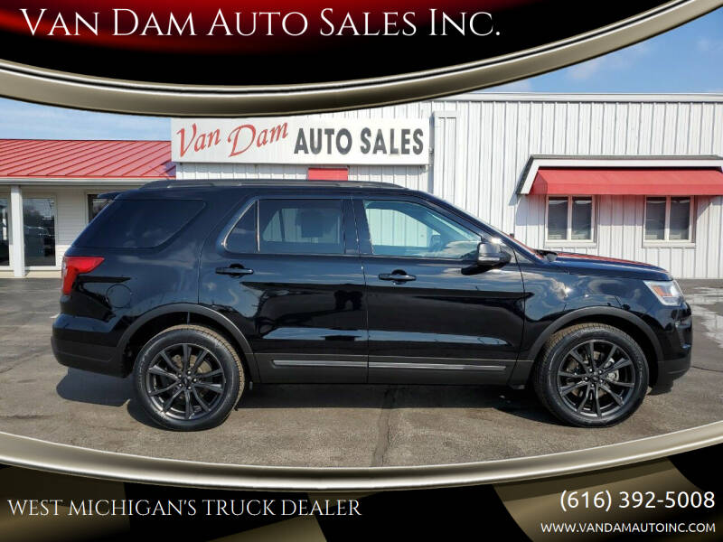 2018 Ford Explorer for sale at Van Dam Auto Sales Inc. in Holland MI