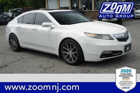 2012 Acura TL for sale at Zoom Auto Group in Parsippany NJ