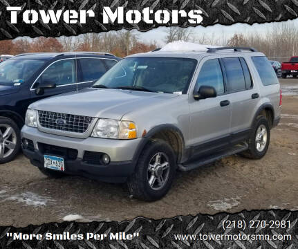 2003 Ford Explorer for sale at Tower Motors in Brainerd MN