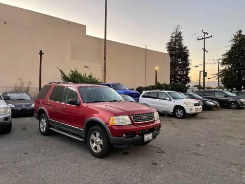 2003 Ford Explorer for sale at Blue Eagle Motors in Fremont CA