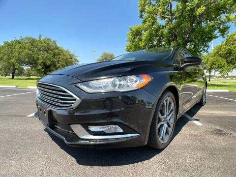 2017 Ford Fusion Hybrid for sale at Carz Of Texas Auto Sales in San Antonio TX