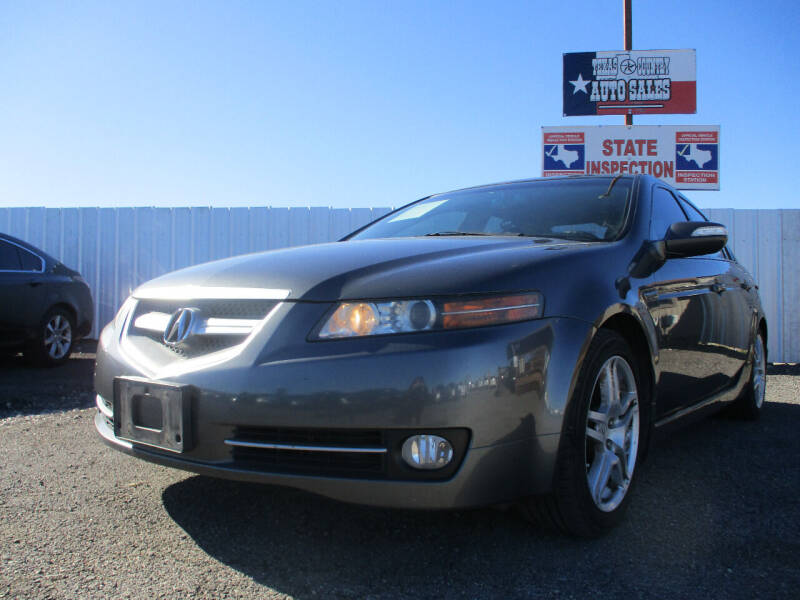 2008 Acura TL for sale at Texas Country Auto Sales LLC in Austin TX