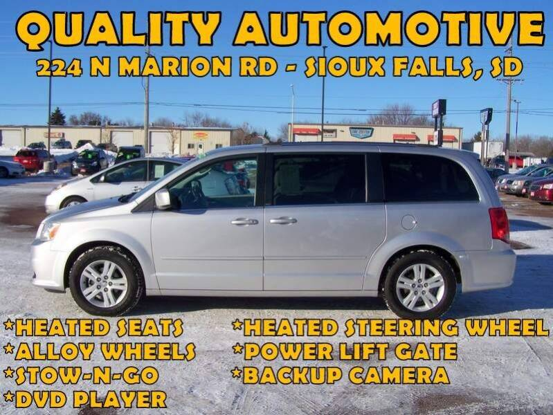 2011 Dodge Grand Caravan for sale at Quality Automotive in Sioux Falls SD