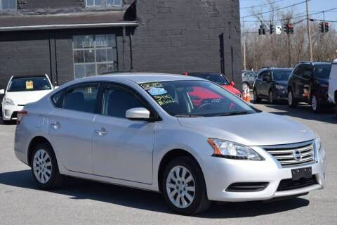 2015 Nissan Sentra for sale at Broadway Motor Car Inc. in Rensselaer NY