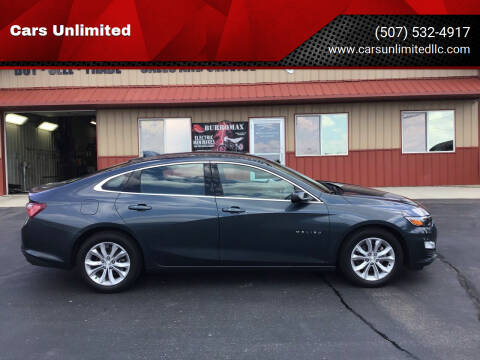 2020 Chevrolet Malibu for sale at Cars Unlimited in Marshall MN