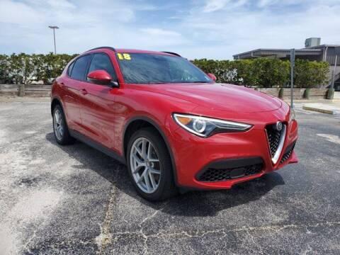 2018 Alfa Romeo Stelvio for sale at GATOR'S IMPORT SUPERSTORE in Melbourne FL