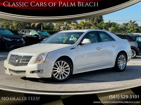 2011 Cadillac CTS for sale at Classic Cars of Palm Beach in Jupiter FL