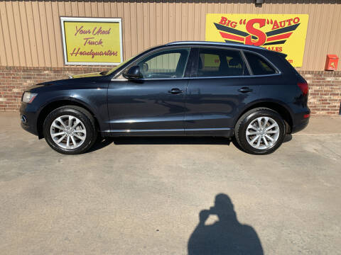 2013 Audi Q5 for sale at BIG 'S' AUTO & TRACTOR SALES in Blanchard OK