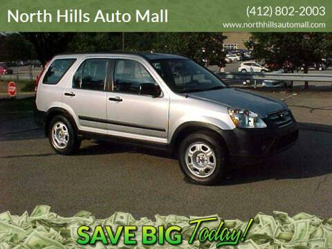2005 Honda CR-V for sale at North Hills Auto Mall in Pittsburgh PA