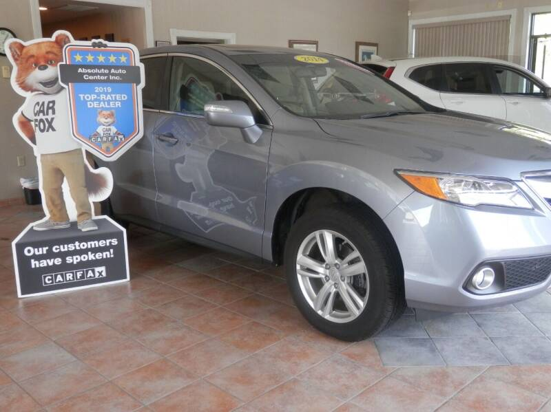 2014 Acura RDX for sale at ABSOLUTE AUTO CENTER in Berlin CT
