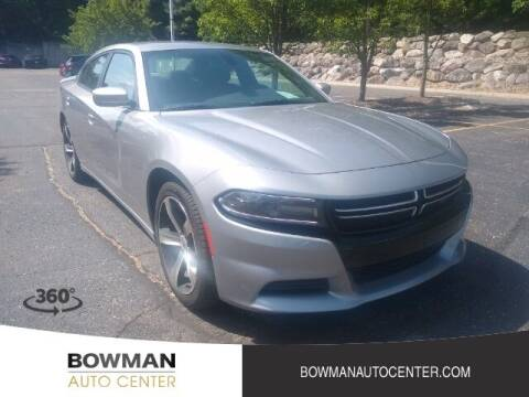 2017 Dodge Charger for sale at Bowman Auto Center in Clarkston MI
