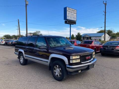 1997 GMC Suburban for sale at AFFORDABLY PRICED CARS LLC in Mountain Home ID