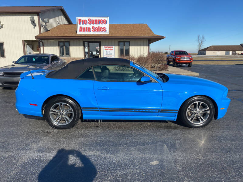 2014 Ford Mustang for sale at Pro Source Auto Sales in Otterbein IN