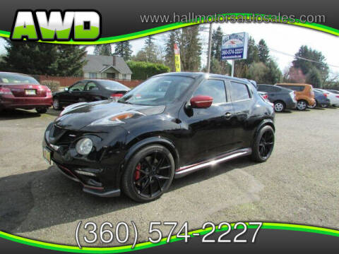 2015 Nissan JUKE for sale at Hall Motors LLC in Vancouver WA