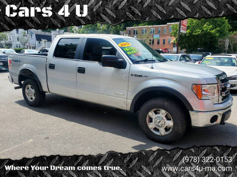 2013 Ford F-150 for sale at Cars 4 U in Haverhill MA