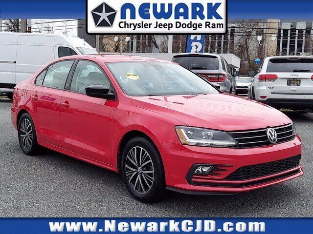 2018 Volkswagen Jetta for sale at NEWARK CHRYSLER JEEP DODGE in Newark DE