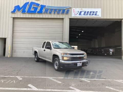 2004 Chevrolet Colorado for sale at MGI Motors in Sacramento CA
