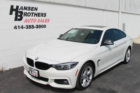 2018 BMW 4 Series for sale at HANSEN BROTHERS AUTO SALES in Milwaukee WI