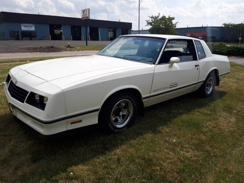 1984 Chevrolet Monte Carlo for sale at C & C Wholesale in Cleveland OH