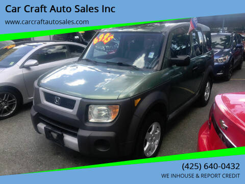 2005 Honda Element for sale at Car Craft Auto Sales Inc in Lynnwood WA