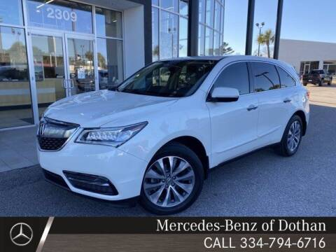 2016 Acura MDX for sale at Mike Schmitz Automotive Group in Dothan AL