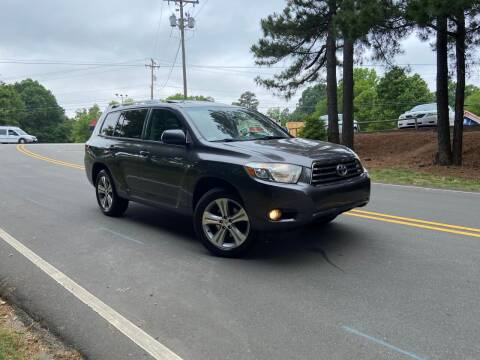 2008 Toyota Highlander for sale at THE AUTO FINDERS in Durham NC