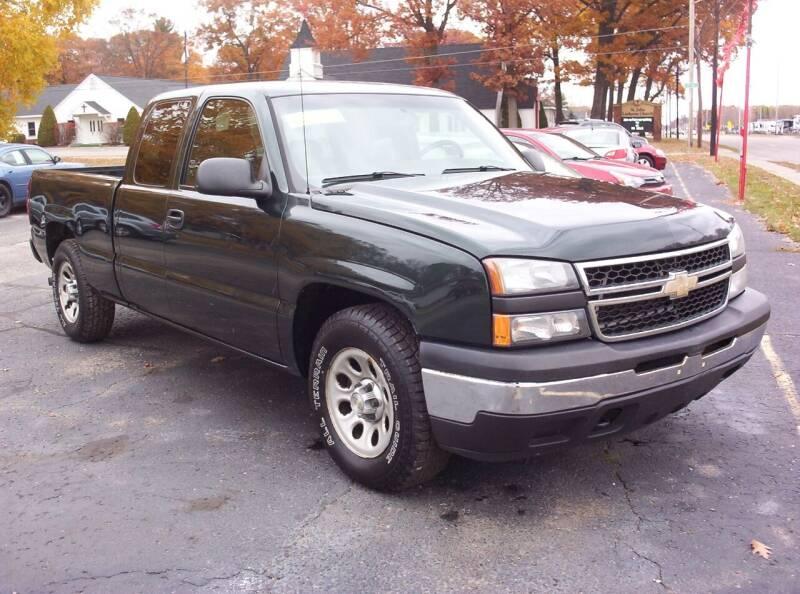 2007 Chevrolet Silverado 1500 Classic for sale at LAKESIDE MOTORS LLC in Houghton Lake MI