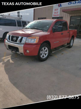 2011 Nissan Titan for sale at TEXAS AUTOMOBILE in Houston TX