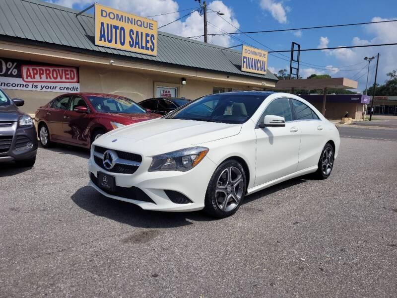 2014 Mercedes-Benz CLA for sale at Dominique Auto Sales in Opelousas LA