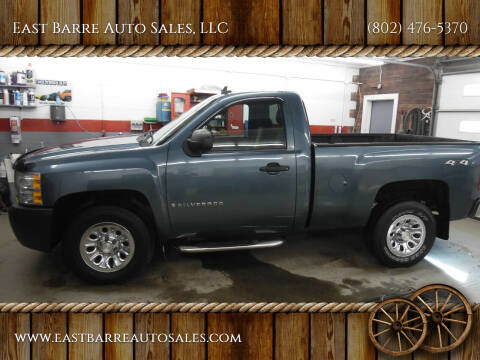 2008 Chevrolet Silverado 1500 for sale at East Barre Auto Sales, LLC in East Barre VT