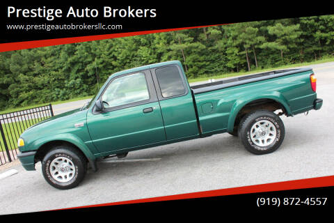 2001 Mazda B-Series Pickup for sale at Prestige Auto Brokers in Raleigh NC