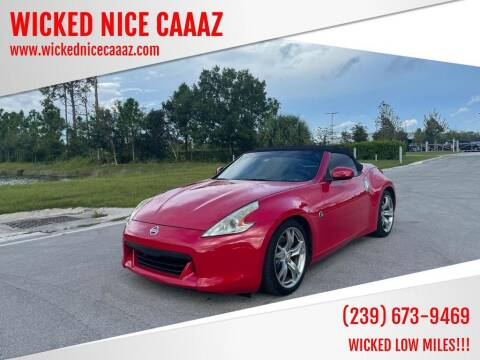 2010 Nissan 370Z for sale at WICKED NICE CAAAZ in Cape Coral FL