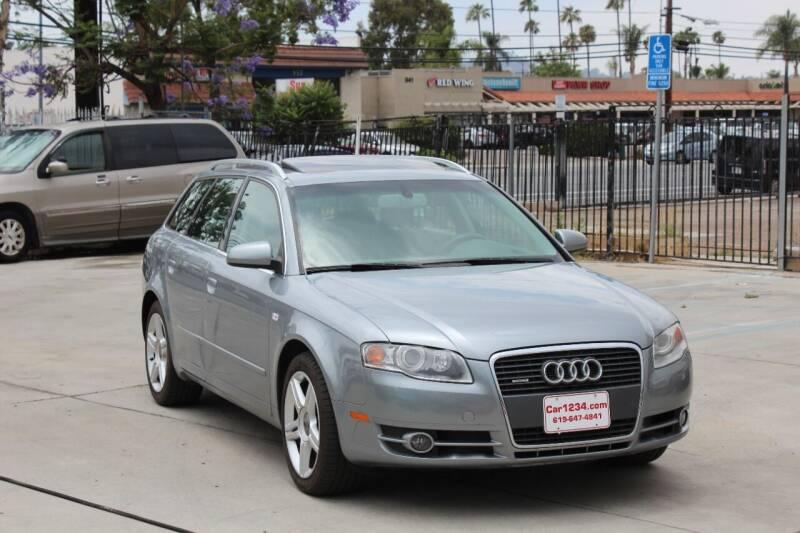2007 Audi A4 for sale at Car 1234 inc in El Cajon CA