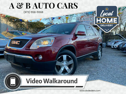 2011 GMC Acadia for sale at A & B Auto Cars in Newark NJ