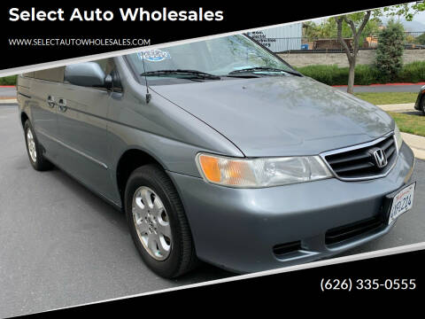 2002 Honda Odyssey for sale at Select Auto Wholesales in Glendora CA