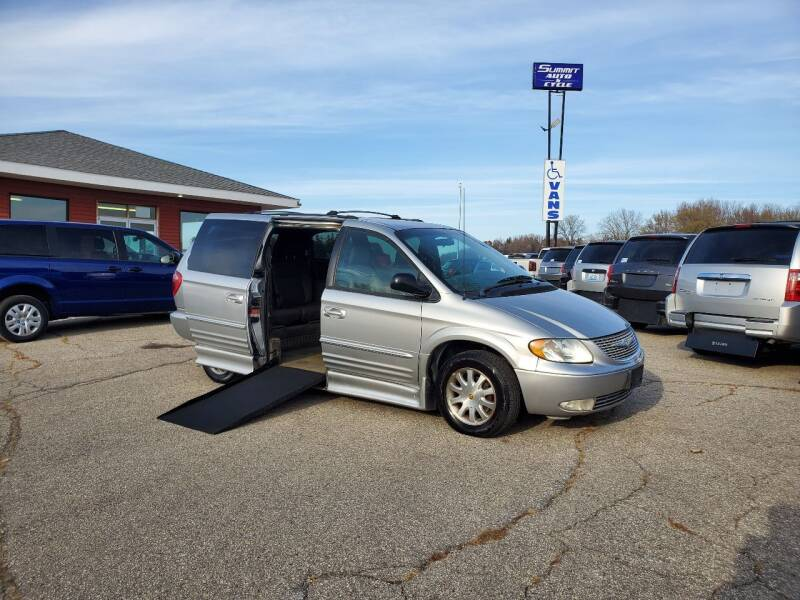 2002 Chrysler Town and Country for sale at Summit Auto & Cycle in Zumbrota MN