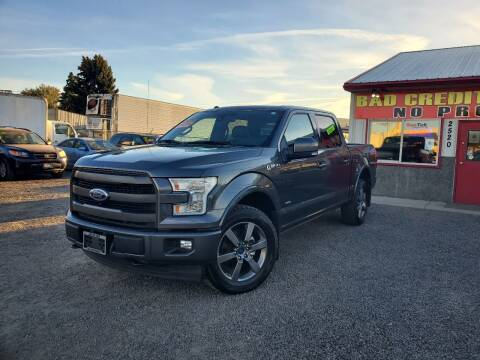 2017 Ford F-150 for sale at Yaktown Motors in Union Gap WA