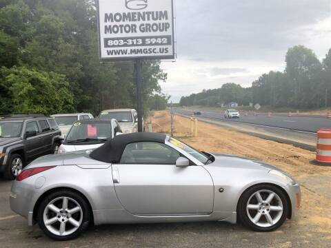 2004 Nissan 350Z for sale at Momentum Motor Group in Lancaster SC
