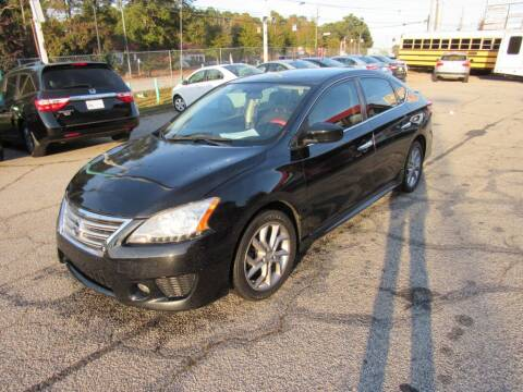 2013 Nissan Sentra for sale at King of Auto in Stone Mountain GA