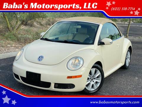 2008 Volkswagen New Beetle Convertible for sale at Baba's Motorsports, LLC in Phoenix AZ