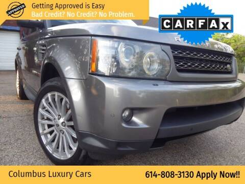2010 Land Rover Range Rover Sport for sale at Columbus Luxury Cars in Columbus OH