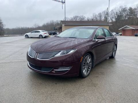 2013 Lincoln MKZ for sale at Elite Motors in Uniontown PA