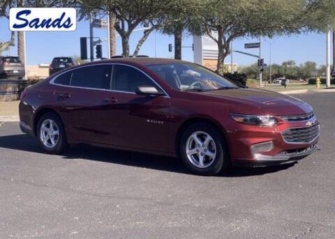 2016 Chevrolet Malibu for sale at Sands Chevrolet in Surprise AZ