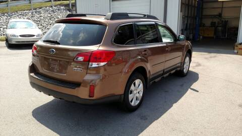 2012 Subaru Outback for sale at DISCOUNT AUTO SALES in Johnson City TN