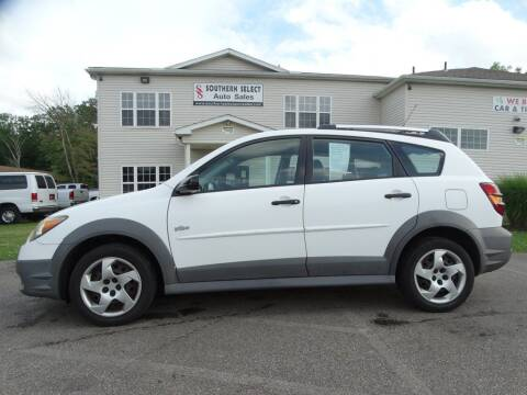 2004 Pontiac Vibe for sale at SOUTHERN SELECT AUTO SALES in Medina OH