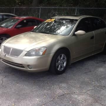 2002 Nissan Altima for sale at Easy Credit Auto Sales in Cocoa FL